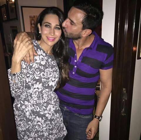 Saif and Karishma