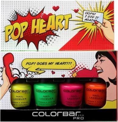 Pop Heart Nail Kit
