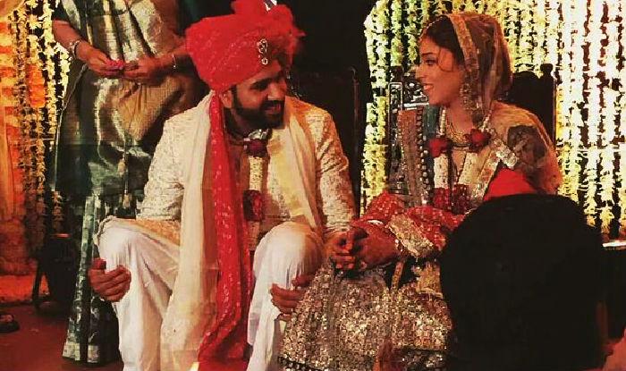 Rohit Sharma & Ritika Sajdeh