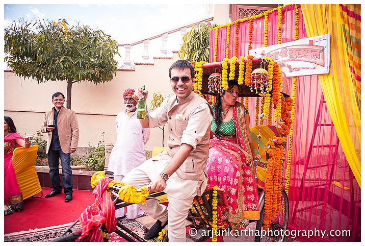 Rick and Auto at Indian Weddings