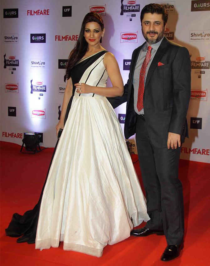 Sonali Bendre at Filmfare 2016